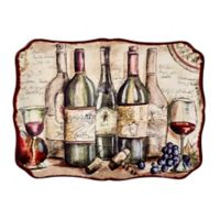Certified International Vintners Journal by Tre Sorelle Studios Rectangular Platter