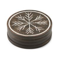Lenox® Alpine™ Carved Coasters (Set of 4)
