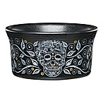 Fiesta® Halloween Skull and Vine Ramekin in Black