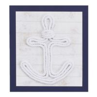 Nautica Kids® Set Sail 14-Inch x 12-Inch 3D Rope Framed Wall Art