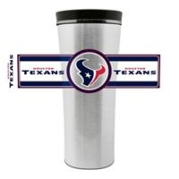 NFL Houston Texans 16 oz. Stainless Steel Leak-Proof Travel Mug