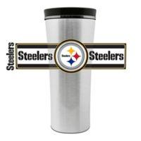 NFL Pittsburgh Steelers 16 oz. Stainless Steel Leak-Proof Travel Mug