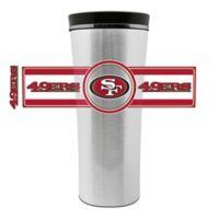 NFL San Francisco 49ers 16 oz. Stainless Steel Leak-Proof Travel Mug
