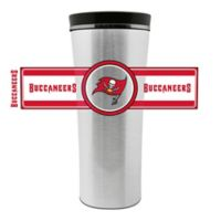 NFL Tampa Bay Buccaneers 16 oz. Stainless Steel Leak-Proof Travel Mug