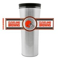 NFL Cleveland Browns 16 oz. Stainless Steel Leak-Proof Travel Mug