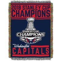 NHL 2018 Champions Washington Capitals Tapestry Throw Blanket