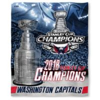 NHL 2018 Champions Washington Capitals Silk Touch Throw Blanket