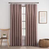 Cassora 108-Inch Skinny Tab Window Curtain Panel in Lilac