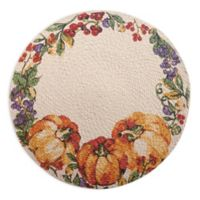 Harvest Table Braided Round Placemat