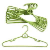 Merrick 72-Count Attachable Hangers in Lime Green