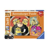 Ravensburger Despicable Me 3 3-in-1 49-Piece Multi-Pack Jigsaw Puzzle