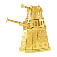Fascinations Metal Earth 3D Metal Model Kit - Dr. Who Gold Dalek