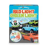 Game Zone Flip-o-matic Red Light Green Light Memory Game