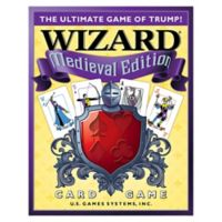 U.S. Games Systems Wizard Card Game Medieval Edition