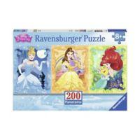 Ravensburger Beautiful Disney Princesses 200-Piece Panoramic Puzzle