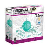 BePuzzled® Cinderella's Carriage 71-Piece 3D Crystal Puzzle