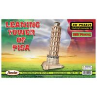 Puzzled Leaning Tower of Pisa 189-Piece Wooden Puzzle
