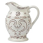 Certified International Terra Nova 80 oz. Pitcher in White
