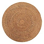 Natural Rattan Placemat in Honey