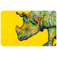 "FoFlor Java 23"" x 36"" Kitchen Mat in Yellow"