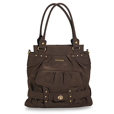 buy timi leslie louise diaper bag in brown from bed bath beyond. Black Bedroom Furniture Sets. Home Design Ideas