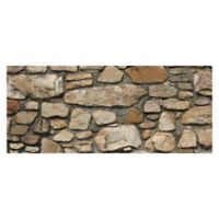 "FoFlor Rock On! 25"" x 60"" Kitchen Mat in Natural"