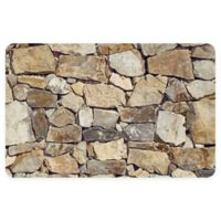 """FoFlor Casterly Rock 25"""" x 60"""" Kitchen Mat in Natural"""
