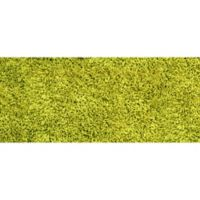 "FoFlor Shag 25"" x 60"" Kitchen Mat in Lime Green"