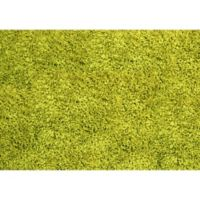 "FoFlor Shag 46"" x 66"" Kitchen Mat in Lime Green"