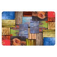 "FoFlor Layered Wood 23"" x 36"" Kitchen Mat"