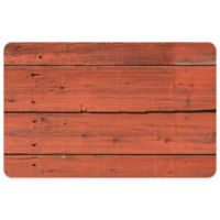 "FoFlor Desert Floor 23"" x 36"" Kitchen Mat in Reddish Brown"