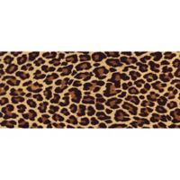 "FoFlor Big Cat Hide 25"" x 60"" Kitchen Mat in Brown"