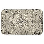 "Home Dynamix Designer Chef 18"" x 30"" Curvy Medallion Anti-Fatigue Kitchen Mat"