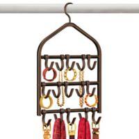 Lynk Double Sided 15-Hook Accessory Hanger in Bronze