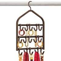 Lynk Double Sided 15-Hook Accessory Hanger in Bronze