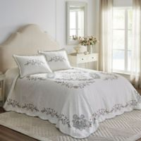 Ashmont Twin Bedspread in Ivory