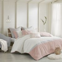 Urban Habitat Myla King/California King Duvet Cover Set in Blush