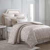 Charisma Avalon King Duvet Cover Set in Gold