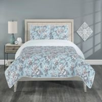 Annabelle Reversible Twin Quilt Set in Spa