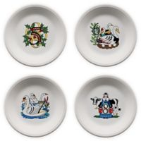 Fiesta® Twelve Days of Christmas Day 5-8 Salad Plates in White (Set of 4)