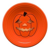 Fiesta® Halloween Glowing Pumpkin Luncheon Plate in Orange