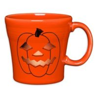 Fiesta® Halloween Glowing Pumpkin Tapered Mug in Orange