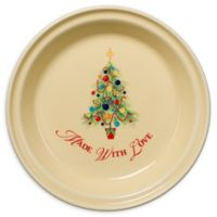 "Fiesta® Christmas Tree ""Made with Love"" Pie Plate"