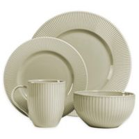 Over and Back® Carlyle 16-Piece Dinnerware Set in Linen