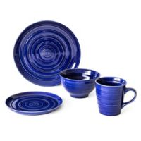 Over and Back® Centric 16-Piece Dinnerware Set in Blue