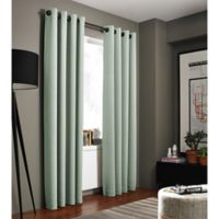 Kenneth Cole Reaction Home Gotham 63-Inch Grommet Room Darkening Window Curtain Panel in Mint