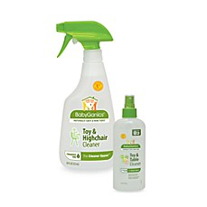 BabyGanics® Toy, Table and High Chair Cleaner Sprays
