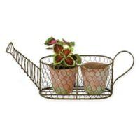 Boston International Garden Planter Set in Green/Terracotta