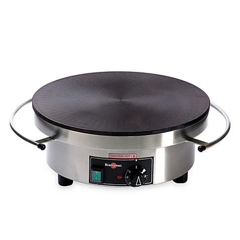 eurodib electric round crepe makerkrampouz - bed bath & beyond
