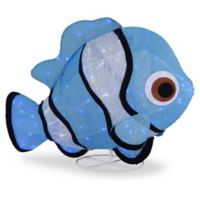 National Tree Company Clownfish LED Lighted Indoor/Outdoor Décor in Blue